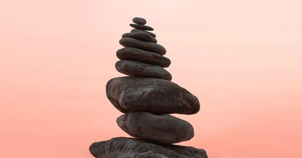 Prayer stone stacks